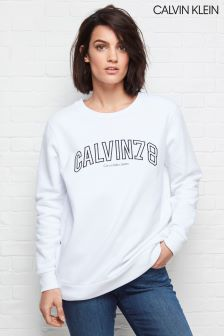 Calvin Klein White Core Fit 78 Sweatshirt