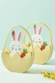 Set of 2 Egg Hunt Baskets