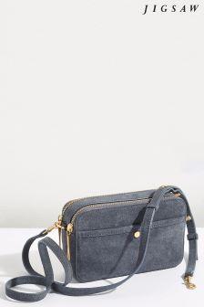 Jigsaw Grey Wren Crossbody Bag