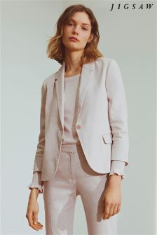 Jigsaw Pink Portofino Jacket