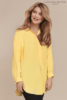 Live Unlimited Buttercup Viscose Twill Blouse