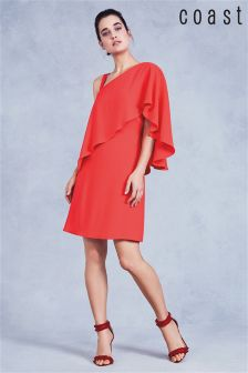 Coast Coral Caggie Overlay Shift Dress