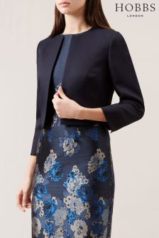 Hobbs Blue Elize Jacket