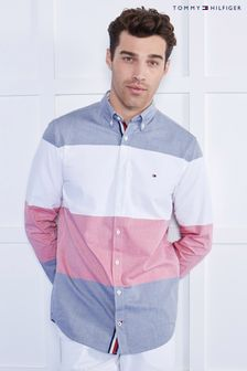 Tommy Jeans Blue Global Stripe Block Shirt