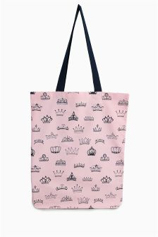 Crown Print Shopper