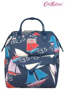 Cath Kidston® Blue Whitby Waters Frame Backpack