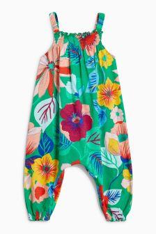 Floral Playsuit (3mths-6yrs)