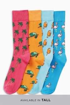 Conversational Socks Four Pack