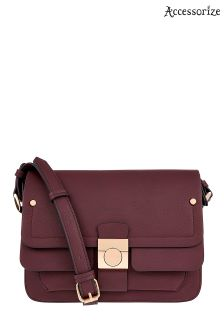 Accessorize Red Dhillon Satchel