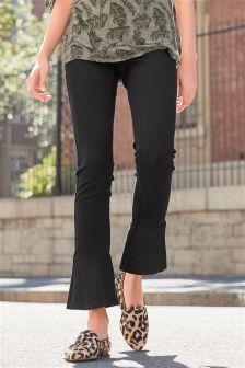 Frill Hem Jeans