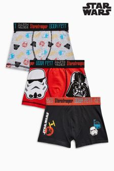 Star Wars™ Trunks Three Pack (3-12yrs)