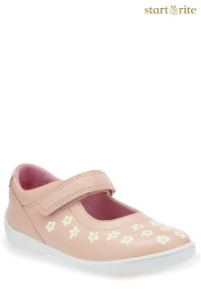 Start-Rite Pink Shine First Steps Shoe