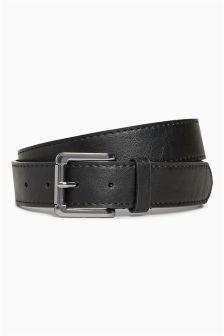 Casual Stitched Edge Belt