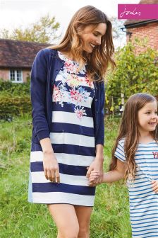 Joules Navy Stripe Whitstable Seren Dress