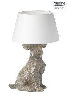 Parlane Grey Terrier Table Lamp