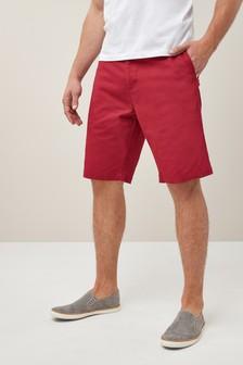 Long Length Chino Shorts
