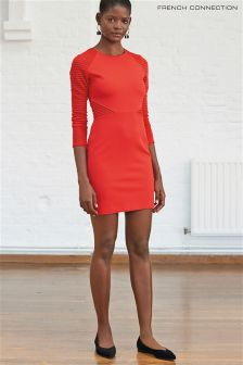 French Connection Red Thiestis Jersey Bodycon Dress