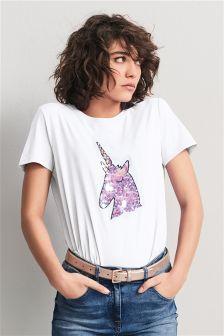 Sequin Unicorn T-Shirt