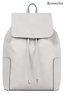 Accessorize Grey Holly Backpack