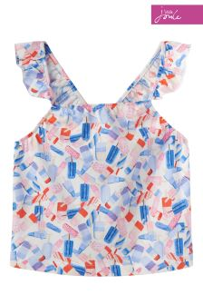 Joules Lolly Ditsy Aria Top