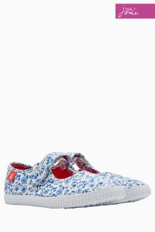 Joules Blue Ditsy Goodway Pump