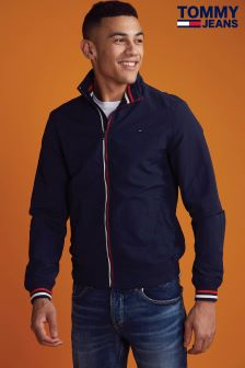 Tommy Jeans Blue Basic Casual Bomber Jacket