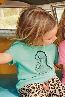 Sequin Dino T-Shirt (3mths-6yrs)