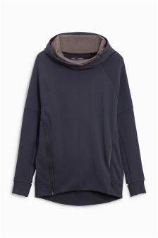 Cowl Neck Hoody (3-16yrs)