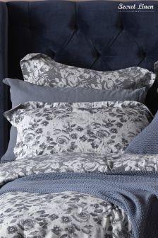 Secret Linen Store Roses Pillowcase