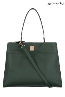 Accessorize Green Moira Shoulder Bag