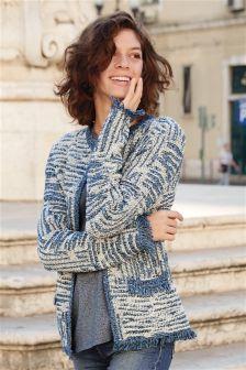 Tweed Effect Jacket