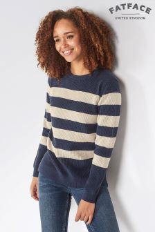 FatFace Navy Cally Jumper