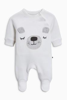 Bear Sleepsuit (0-18mths)