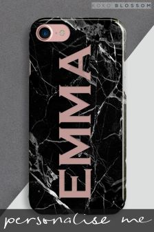 Personalised Marble Cut Out Phone Cover By Koko Blossom