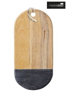 Masterclass Black Marble Serving Board