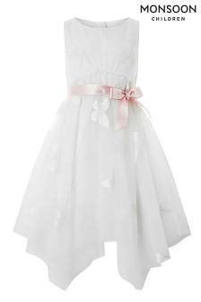 Monsoon White Vanja Dress
