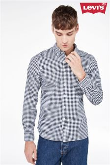 Levi's® Navy Gingham Shirt