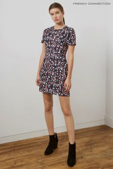 French Connection Navy Multi Dress