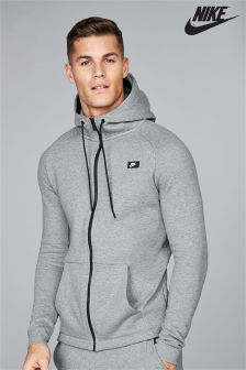 Nike Modern Charcoal Zip Through Hoody
