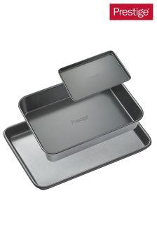 Set of 3 Prestige Heavy Gauge Bakeware