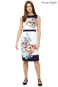 Phase Eight Ivory Multi Tamara Floral Dress
