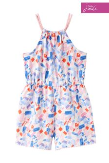 Joules Lolly Ditsy Delphi Playsuit
