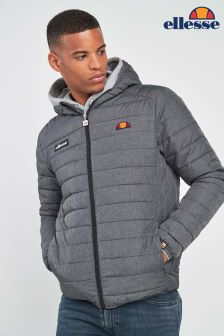 Ellesse Grey Grindle Padded Jacket