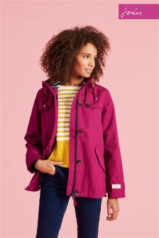 Joules Berry Waterproof Hooded Coast Jacket