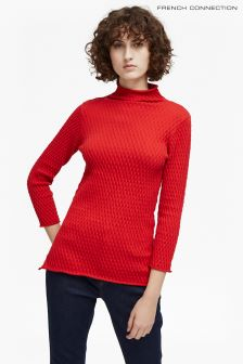 French Connection Red Jumper