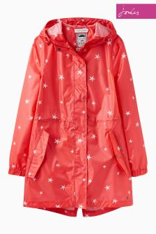 Joules Red Sky Golightly Coat