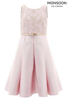 Monsoon Pink Bouvier Dress