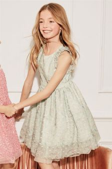 Ditsy Prom Dress (3-16yrs)
