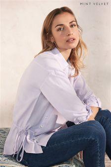 Mint Velvet Button Front Shirt