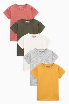 Short Sleeve Arizona T-Shirts Five Pack (3mths-6yrs)